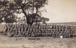 CP Photo : Soldats Du 1er Régiment De Tirailleurs Marocains - Kenitra - Maroc -  Mars 1930 - Guerre, Militaire