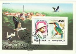 Obervolta Block 35 Gest. - Upper Volta (1958-1984)
