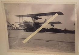 1930 1939 Hourtin Hydravion CAMS 55 Bombardier Torpilleur Sur Son Berceau Aéronavale Marine Photo - War, Military