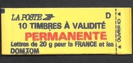 Carnet Y&T N° 2806-C1 Marianne Liberté De Briat Avec Numéros Livraison Gratuite - Markenheftchen