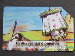 ITALIA - 3341 C&C 251 GOLDEN - PRIVATE PUBBLICHE - DISCESA CANDELIERI - USATA - Italië