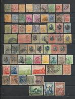 SERBIE Collection De  66 Timbres Oblitérés - Serbie