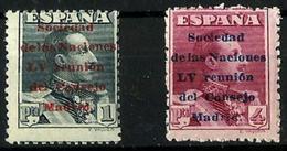 España Nº 465/66 Nuevo. Cat.64€ - Unused Stamps