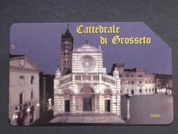 ITALIA - 3349 C&C 252 GOLDEN - PRIVATE PUBBLICHE - CATTEDRALE GROSSETO - USATA - Italië