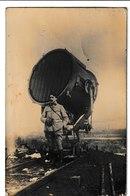 Guerrre 1914-1918  Carte-photo (projecteur Anti Aerien ?) - Guerre 1914-18