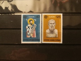 FRANCOBOLLI STAMPS CIPRO CYPRUS 1980 MNH** NUOVI SERIE COMPLETA COMPLETE EUROPA KIBRIS - Nuovi
