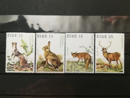 FRANCOBOLLI STAMPS IRLANDA EIRE 1980 MNH** NUOVI SERIE COMPLETA COMPLETE GAMES ANIMALS ANIMALI - 1949-... Repubblica D'Irlanda
