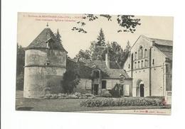 Dép 21 -  - Environs De Montbard - Fontenay Cour Intérieure - Eglise Et Colombier - Frankreich