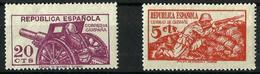 España NE-46-48 Nuevos. Cat.44€ - 1931-50 Unused Stamps