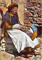 Costumes De Savoie La Vieille Dentelliere Sujet Authentique 32(scan Recto-verso) MA718 - Francia