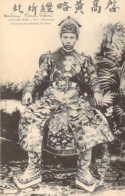 TONKIN VIETNAM Hué L'Empereur D'ANNAM Thanh Thai En Costume De Cour Carte Précurseur - Vietnam