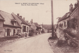 TRACY LE MONT OLLENCOURT  Rue Du Puits Merville - Autres Communes