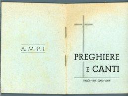 °°° Volume Di 34 Pagine Preghiere E Canti Collegio Conti - Gentili Alatri °°° - Religion