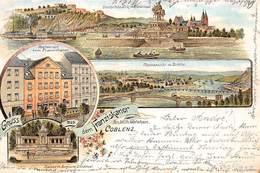 Allemagne - N°63536 - Gruss Aus Dem Franziskaner Coblenz - Koblenz - Multi-vues - 1898 - Koblenz