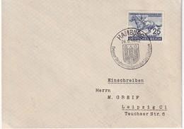 ALLEMAGNE 1942 LETTRE DE HAMBURG - Deutschland