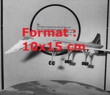 Reproduction D'une Photographie Ancienne De L'avion Concorde En Lego En 1981 - Riproduzioni