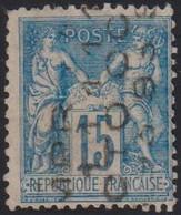 FRANCE PREO N 17 TB SIGNE CALVES COTE:2500 - 1893-1947