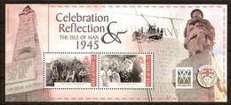 Île De Man 2005 Yvertn° Bloc 59 *** MNH Cote 10,00 Euro Celebration Reflection - Isle Of Man