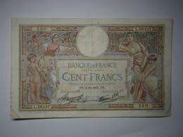 1937 Billet 100 Francs Luc Olivier Merson - 100 F 1908-1939 ''Luc Olivier Merson''