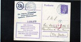 CG6 - Germania - Cartolina Postale - Annullo Di Seefeld 16/5/1944 Per Rep. San Marino - Germany