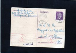 CG6 - Germania - Cartolina Postale - Annullo Di Gottingen 11/5/1944  Per Rep. San Marino - Germany