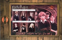 Indonesia 2018, MS Stamps Harry Potter And The Order Of The Phoenix. MNH - Indonesien