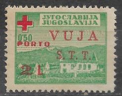 1948 - STT VUJA Porto Marka MLH - 1945-1992 République Fédérative Populaire De Yougoslavie