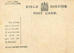 446D.....FIELD SERVICE POST CARD - Guerre 1914-18