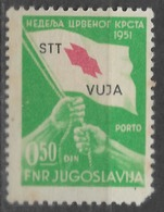 1951 - STT VUJA Porto Marka MLH - 1945-1992 République Fédérative Populaire De Yougoslavie