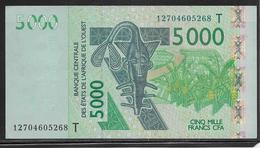 Togo - 5000 Francs - Pick N°817T - SPL - Togo