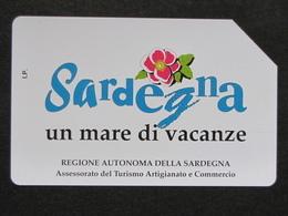 ITALIA - 3323 C&C 226 GOLDEN - PRIVATE PUBBLICHE - SARDEGNA UN MARE - USATA - Italië
