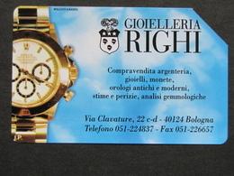 ITALIA - 3310 C&C 217 GOLDEN - PRIVATE PUBBLICHE - GIOIELLERIA RIGHI - USATA - Italië