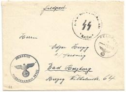 B3 -Pli Du 13 Décembre 1943 Du FELDPOST N° 39462 Tampon  « SS RATIBOR » - Lettres & Documents