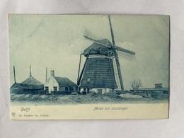 Delft Molen Aan De Oostsingel,windmill,muhle,moulin - Delft