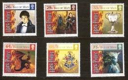 Île De Man 2005 Yvertn° 1275-1280 *** MNH Cote 16,00 Euro Harry Potter - Isla De Man