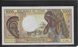 Tchad - 5000 Francs - Pick N°11 - SUP - Tsjaad