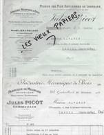 54 - Meurthe-et-moselle - GERBEVILLER - Facture PICOT - Fabrique De Meubles, Menuiserie, Serrurerie - 1927 - REF 131C - 1900 – 1949