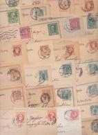 Autriche-Hongrie Empire Austro-hongrois Österreich-Ungarn Lot De 173 Entiers Postaux Et Enveloppes Correspondenz-Karte - Briefe U. Dokumente