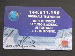 ITALIA - 3331 C&C 238 GOLDEN - PRIVATE PUBBLICHE - GIORNALE TELEFONICO 2 - USATA - Italië