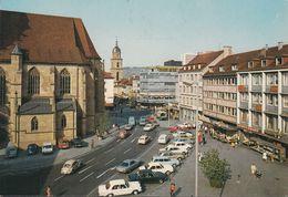 D-74072 Heilbronn - Kiliansplatz - Cars - VW Käfer - VW 1500 - Opel Caravan - Heilbronn