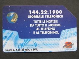 ITALIA - 3301 C&C 208 GOLDEN - PRIVATE PUBBLICHE - GIORNALE TELEFONICO - USATA - Italië