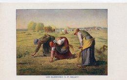 FEMMES 893 : Précurseur Encadrement Blanc : Les Glaneuses Par J F Millet - Vrouwen