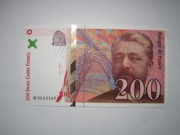 1999 Billet 200 Francs Eiffel - 1992-2000 Dernière Gamme