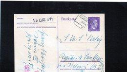 CG6 - Germania - Cartolina Postale - Annullo Di Neunkirchen 30/6/1943 Per Rep. San Marino - Germany