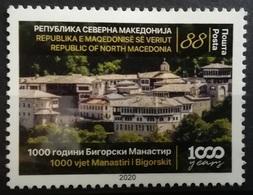 MACEDONIA NORTH 2020 - 100th Of St. JOVAN BIGORSKI MONASTERY MNH - Mazedonien