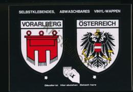 Vorarlberg - Österreich - Selbstklebendes Vinyl-Wappen [AA30-0.497 - Autriche