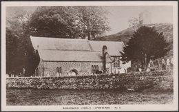 Kirkoswald Church, Cumberland, 1918 - EBC RP Postcard - Cumberland/ Westmorland