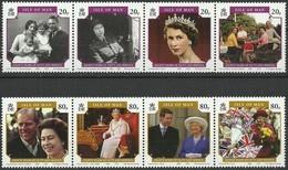 Île De Man 2006  Yvertnr 1286-93 Mi 1257-64*** MNH Cote 20 Euro 80th Birthday Queen Elizabeth II - Man (Ile De)