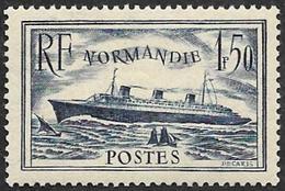 FRANCE  1935   -  Y&T   299   -  Paquebot Normandie  -  NEUF** -  Cote 35e - Nuevos