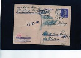 CG6 - Germania - Cartolina Postale - Annullo Di Konigsberg 16/8/1943  Per Rep. San Marino - Germany